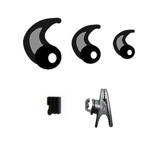 RevJams Active  Pro headphones Spare Parts kit- Black